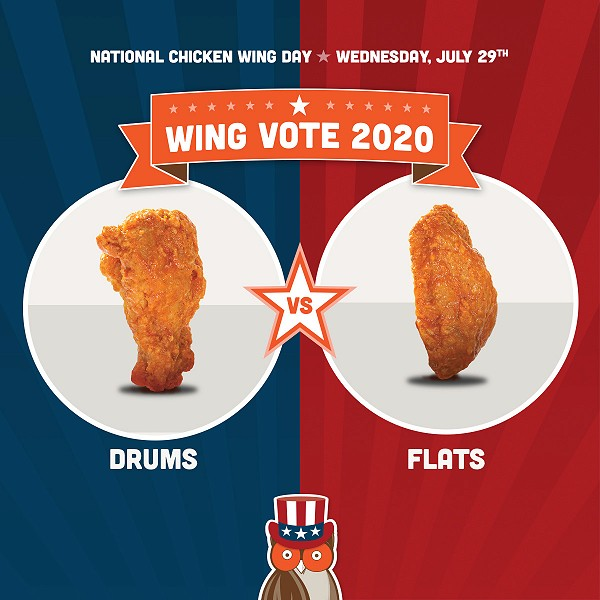 Get 10 Free Boneless Wings When You Buy 10 Wings on National Chicken Wing Day