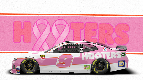 Chase Elliott to Run New Paint Scheme for Breast Cancer Research