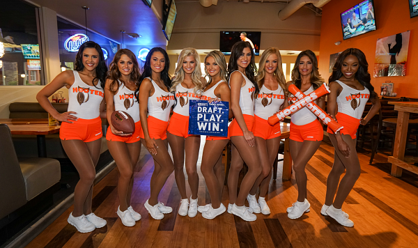 Hooters Fantasy Football Draft Party Reservations Give Chance to Win Big
