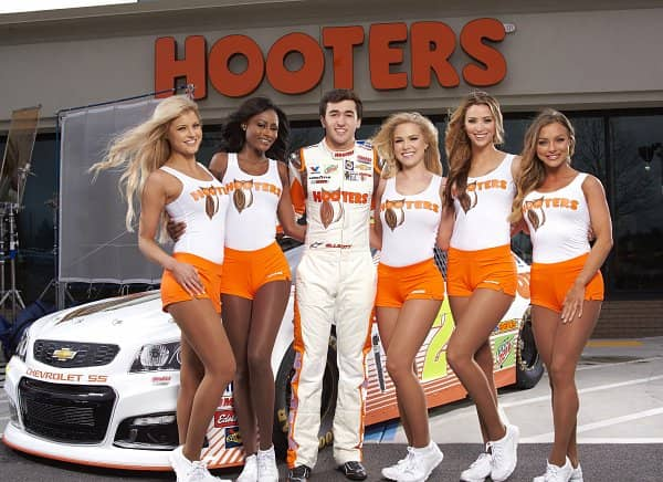 Abby Hooters Calendar May : Hooters to sponsor chase elliott beginning in