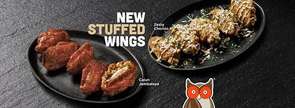 Hooters Officially Launches New Stuffed Wings