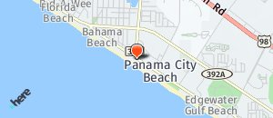 Location of Hooters of Panama City Beach on a map