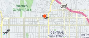 Location of Hooters of Hollywood on a map