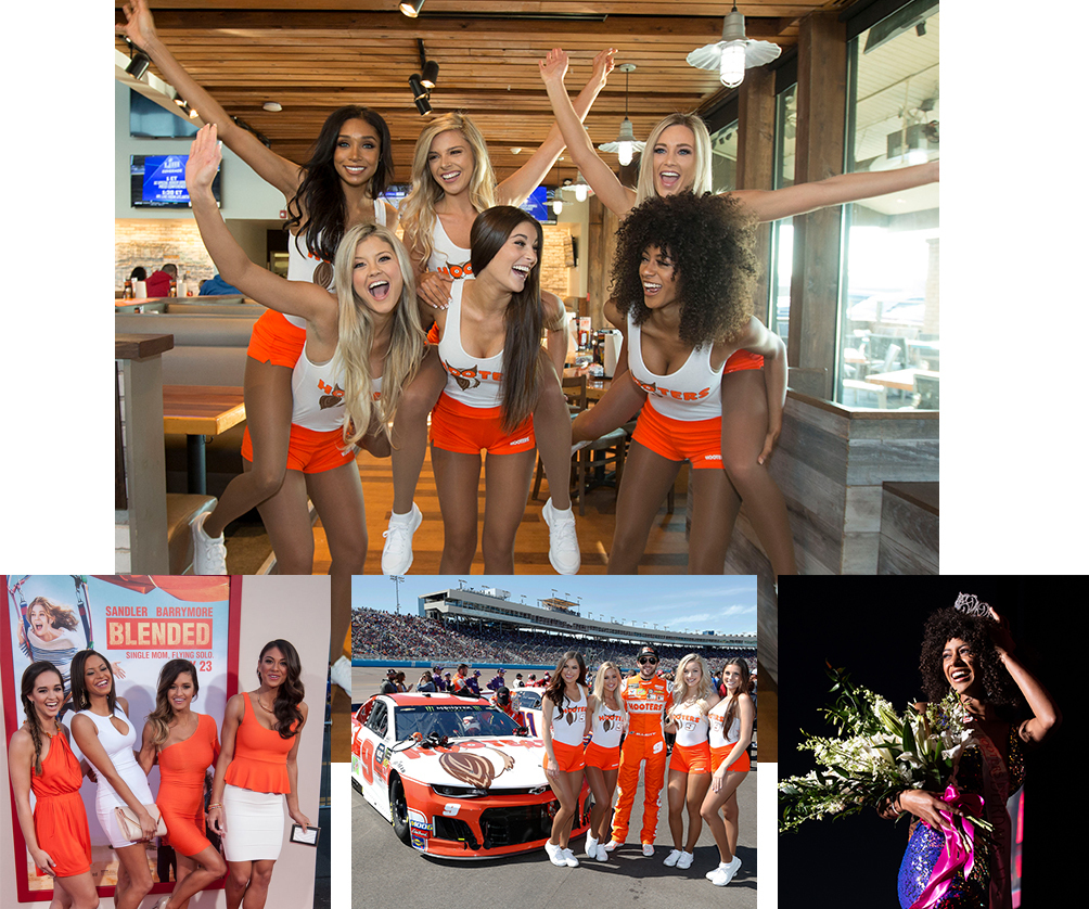 Hooter's Girls loving their Careers