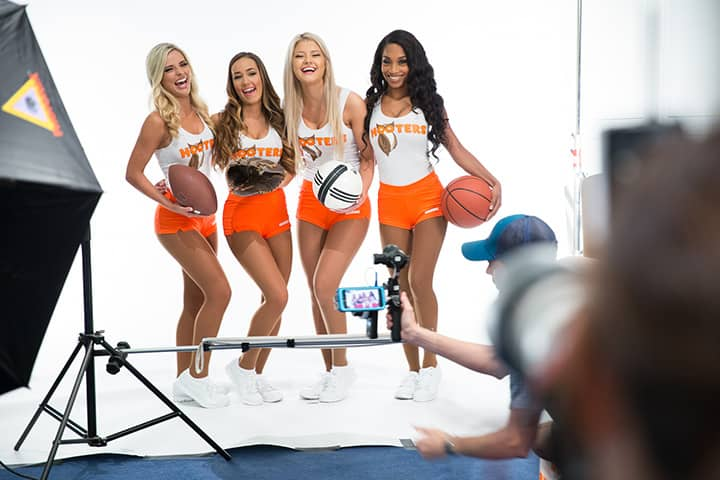 Hooters Girls Photoshoot