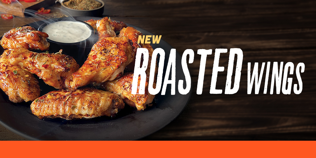 Try Hooters New Roasted Wings!
