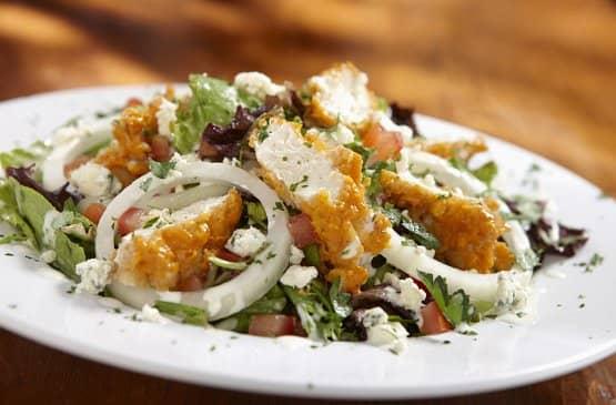 Hooters original buffalo chicken salad