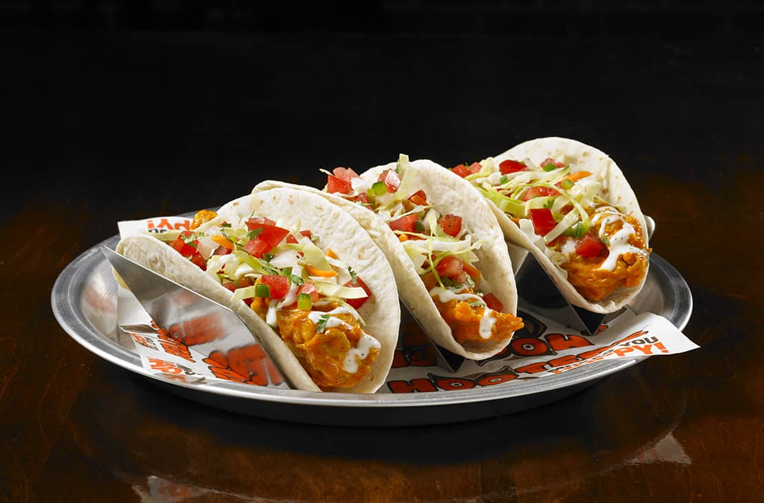 Hooters Original Buffalo Chicken Tacos