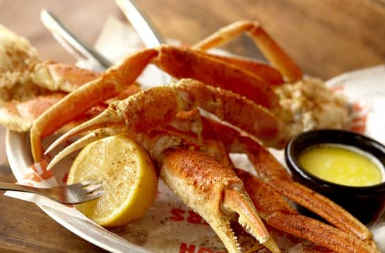 Hooters Seafood Menu